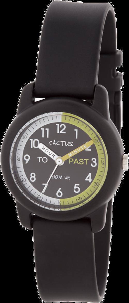 [キッズ腕時計]ブラック 10気圧防水 CAC-69-M01