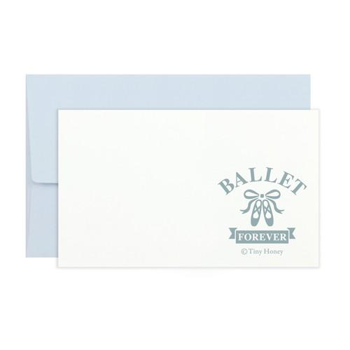 """BALLET FOREVER """"BLUE"""" バレエミニカード"""