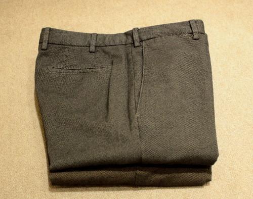GERMANO Geometric Cotton Pants