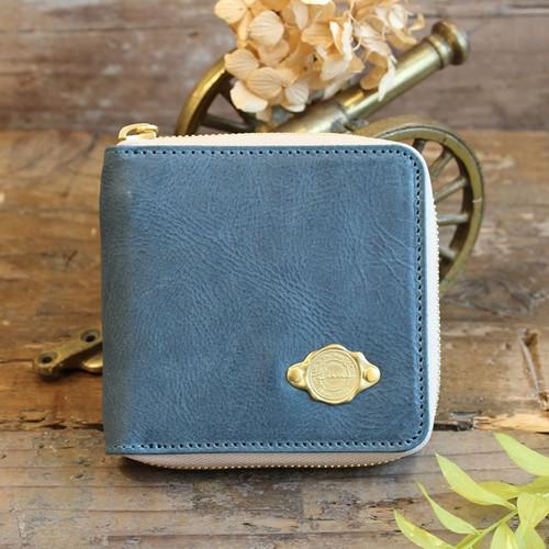 Half Wallet / SEA BLUE