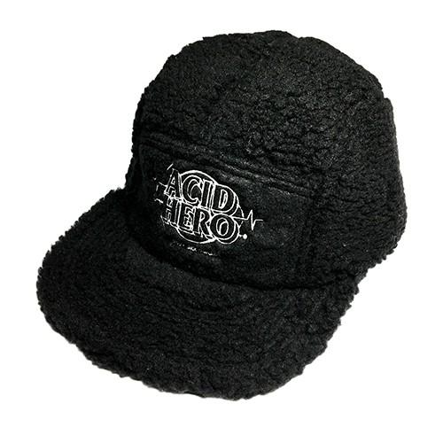 AV「 Acid Hero 」Boa Cap BK