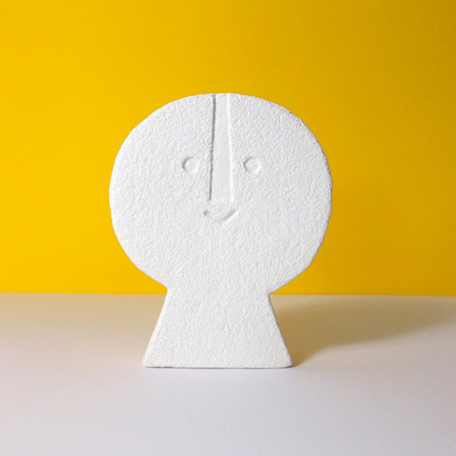 Peter Slight ceramics Medium Head FLAT FRONT / MH05