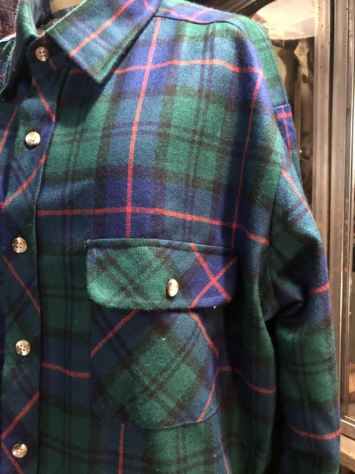 Dead stock flannel shirts