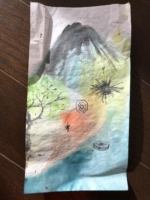 富士山キラキラ