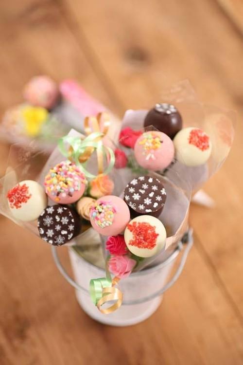 チョコレートブーケ(3本)