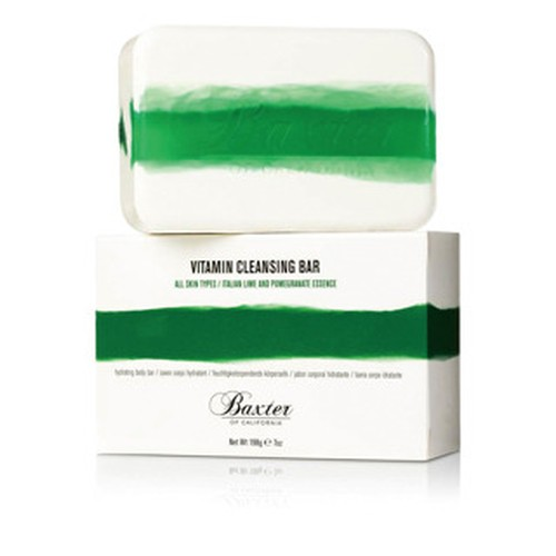 "Baxter of California VITAMIN CLEANSING BAR ""ITALIAN LIME"""