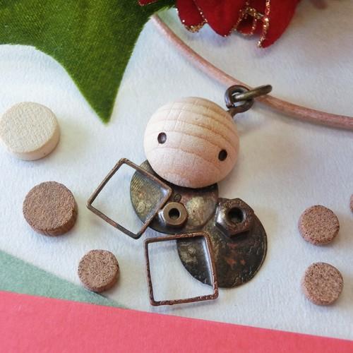 【アリ】c   真鍮 ペンダントトップ ※革紐やチェーンは付属いたしません #1346