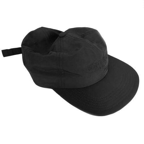 HOTEL BLUE LOGO TASLAN CAP BLACK