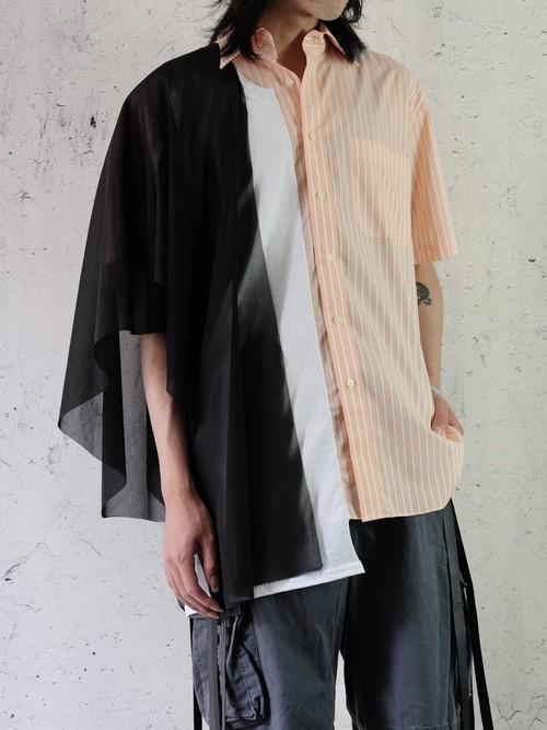 layered switching shirt