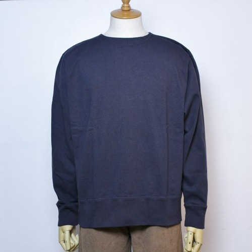 "NECESSARY or UNNECESSARY(ネセサリーオアアンネセサリー) ""MAC L/S 90011591"" FADE BLACK(フェードブラック)"