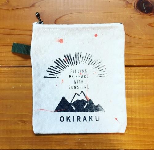 OKIRAKU / オリジナルポーチ(SUNSHINE)