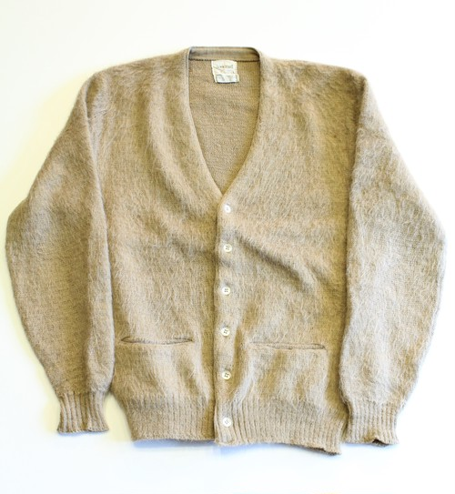 "1970's Vintage ""Town Craft Pennys"" mohair cardigan"