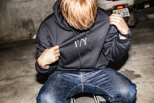 F/Yパーカー(黒)