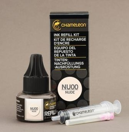 Chameleon Pen Ink Refill 25ml Nude NU00 (カメレオンペン 詰替え用インク NU00)