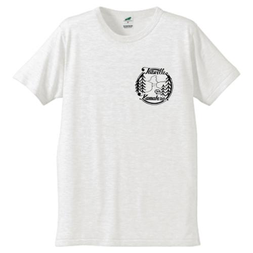 MEN「Hitsville KAMAKURA」ロゴ Chie Nakamura書下ろしデザインTシャツ