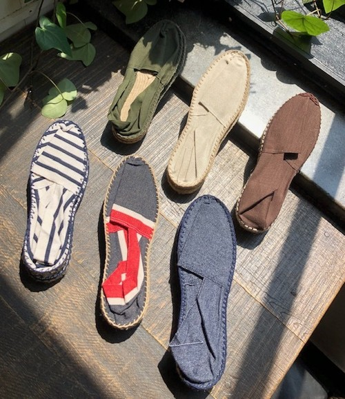 "MADE IN FRANCE     ""ESPADRILLES(SOLID)"""