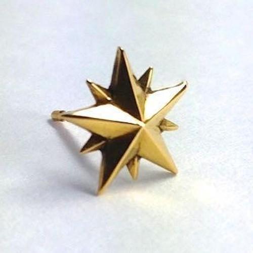 10P STAR STUD 18K YELLOW GOLD / 10ポイントスタースタッド・イエローゴールド