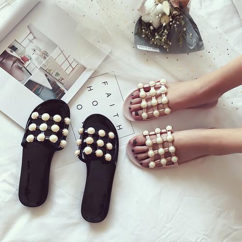 perl mesh flat sandals 1692