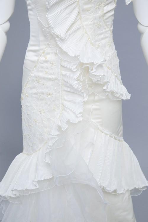 ウエディングドレス♡個性的マーメイド