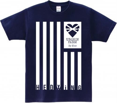 HEDblue翼を授ける Tシャツ (ネイビー)