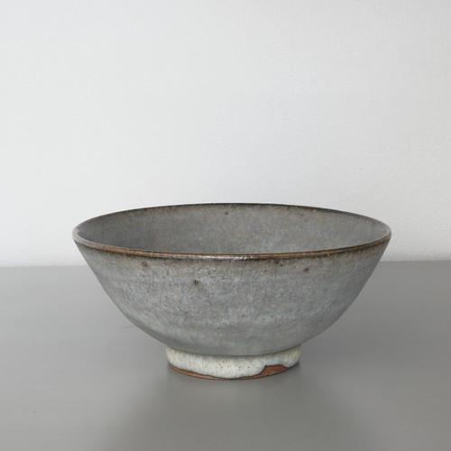 二井内覚|飯碗(鉄白) Satoru Niinai rice bowl