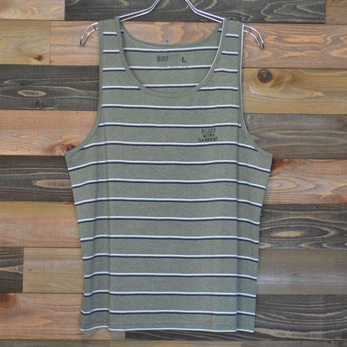 "BLUCO ""SEED STITCH TANK TOP"" OLIVE"