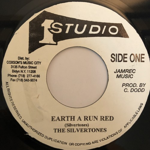 The Silvertones(シルバートーンズ) - Earth A Run Red【7-20280】