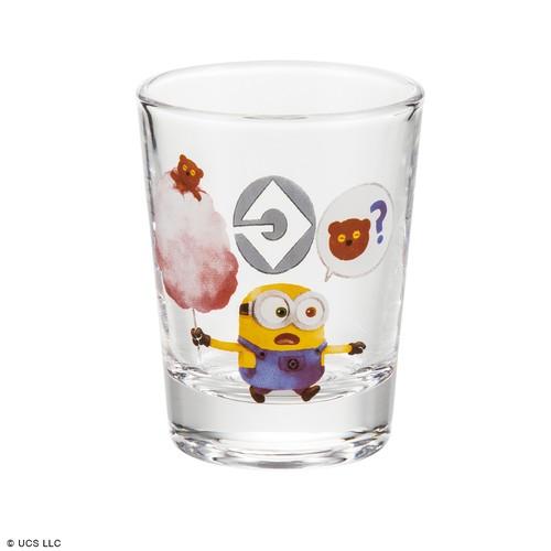 ミニグラス/ミニオン(わたあめ)
