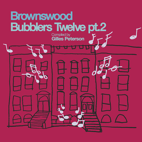【ラスト1/LP】V.A - Brownswood Bubblers Twelve pt.2