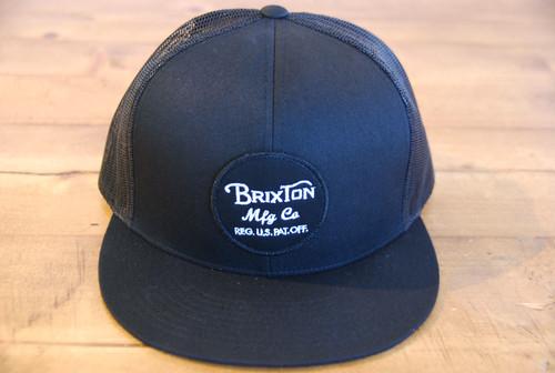 BRIXTON ブリクストン CAP キャップ WHEELER SNAP BACK カラー BLACK