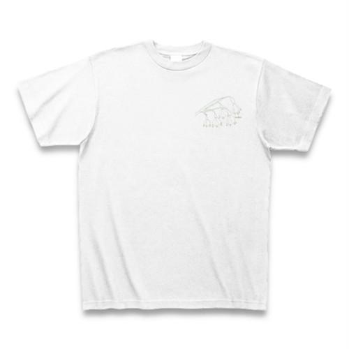 スノーフレーク フラワーイラストTシャツ ワンポイント