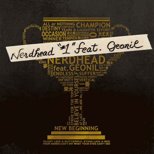 "NERDHEAD /  『#1 feat. GEONIL』【7"" Vinyl /ダウンロードカード付】"