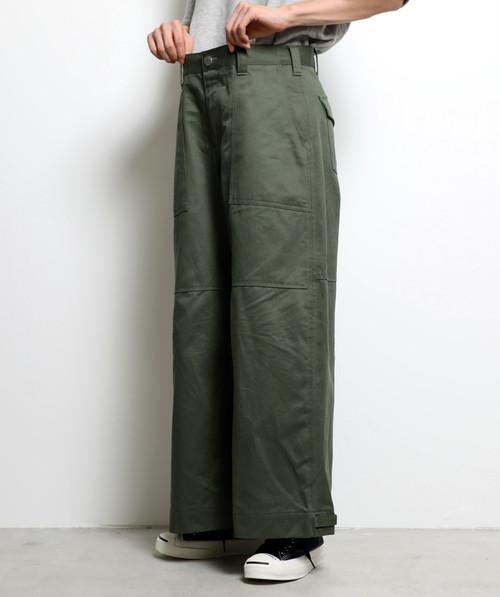 2Way Flap Cargo Pants (Khaki)