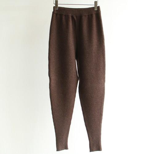 KAYLE【womens 】wool cashmere rib knit pants