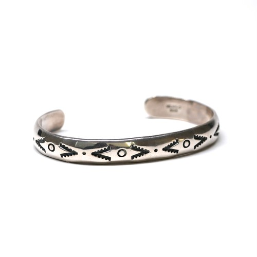 Vintage Mexican Carved Bangle
