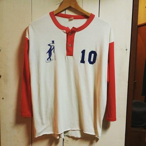 U.S.A. ラグランベースボールシャツ
