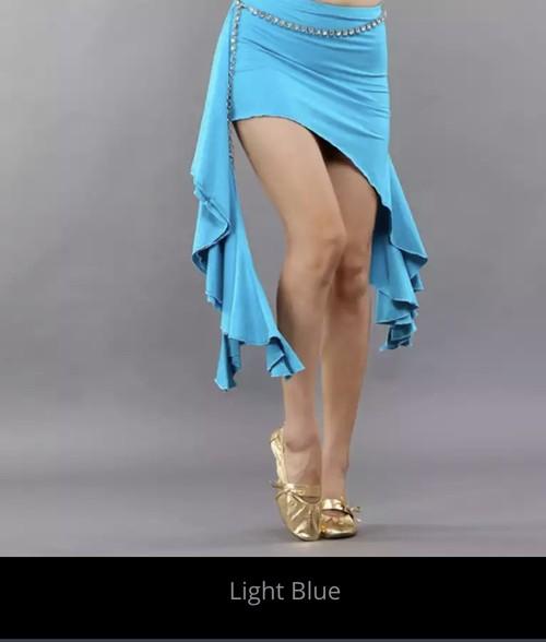 ベリーダンス卸売ベリーダンスラテンダンスモダンダンスのパフォーマンスヒップスカーフベルトミルクシルク波タッセルダンススカート