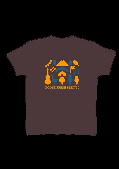 GFB'20(つくばロックフェス)Tシャツ  チャコール サイズS