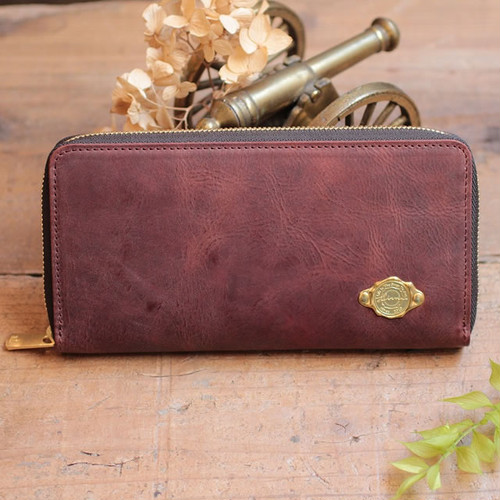 Long Wallet / RED BROWN