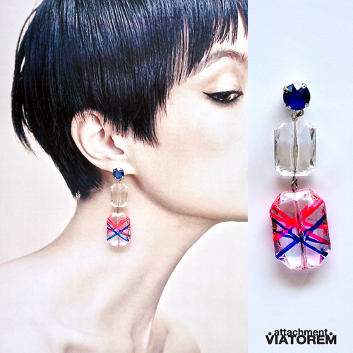 CRYSTAL CANDY PIERCES #pink&blue[VTAC-SS18022]