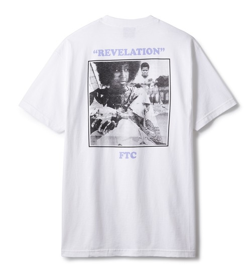 FTC / REVELATION TEE -WHITE-