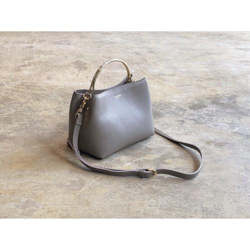 VIOLAd'ORO(ヴィオラドーロ)『ADRIA』 Italian Leather 2way Handbag