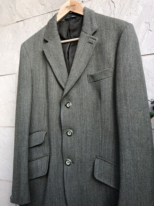Old British tweed wool jacket