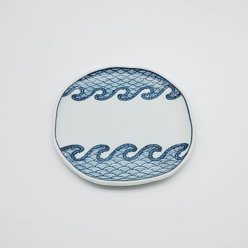 波青海波 タタラ 6寸皿