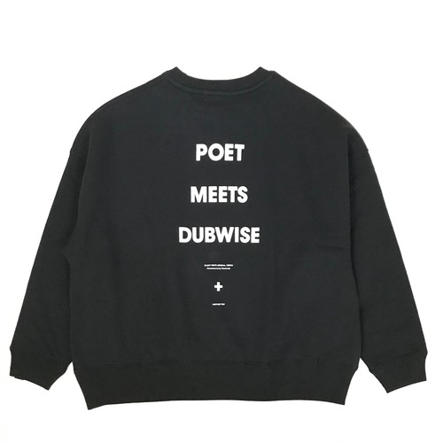 "POET MEETS DUBWISE ""Big Silhouette Sweat"""