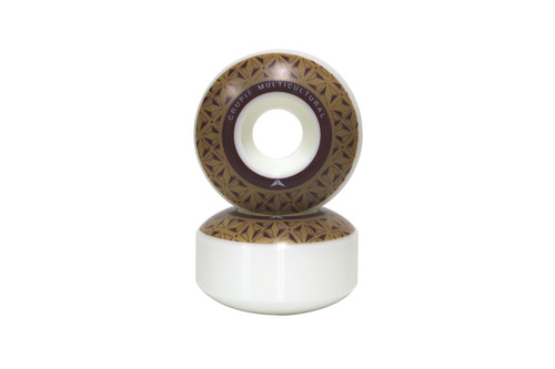 CRUPIE WHEELS BROWN LOGO 5PACK 51mm 52mm