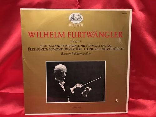 独盤フルトヴェングラー シューマン&ベートーベン