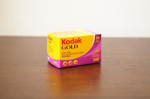 【 35mm カラーネガ 】 Kodak( コダック )GOLD200 36枚撮り