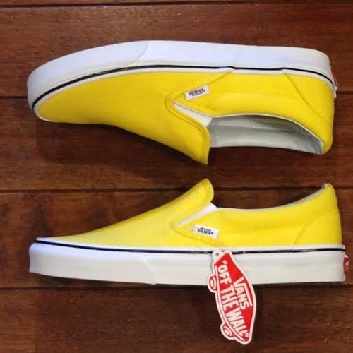 VANS/ヴァンズ | CLASSIC SLIP-ON / VIBRANT YELLOW