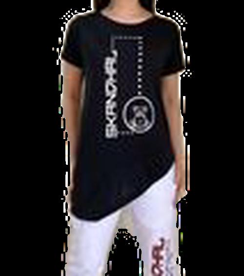 【SKANDHAL】VENEZIA Tシャツ【ブラック】【新作】イタリアンウェア《W》